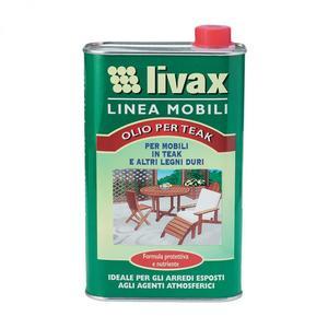 Livax Olio per Teak 1 L Nuncas