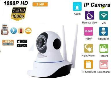 4 pz. TELECAMERA IP CAM HD 1080P CAMERA WIRELESS LED 2 ANTENNE 2MP MEGAPIXEL