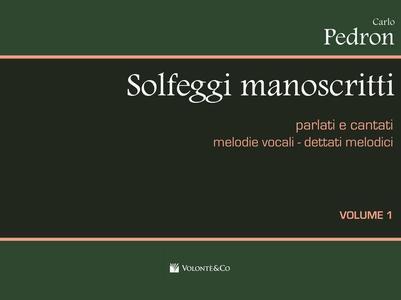Pedron - Solfeggi Manoscritti Vol. 1