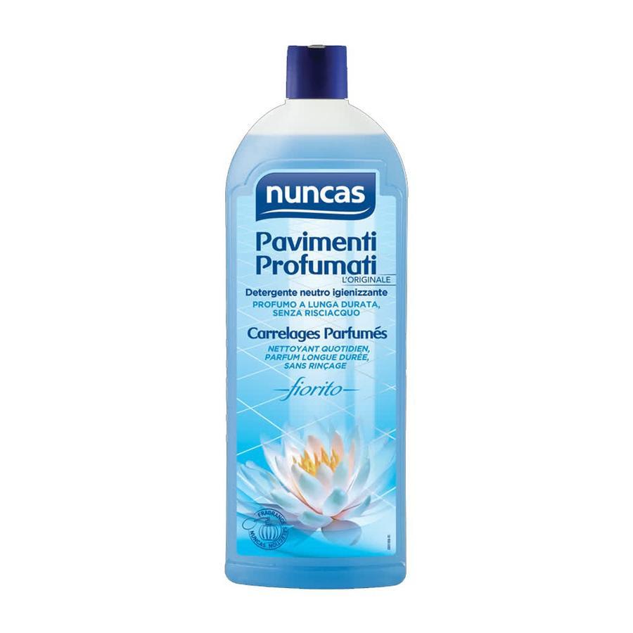 Detergente Pavimenti Profumati Nota Fiorita 1 L Nuncas
