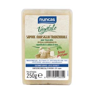 Sapone di Marsiglia per Bucato 250 gr Nuncas