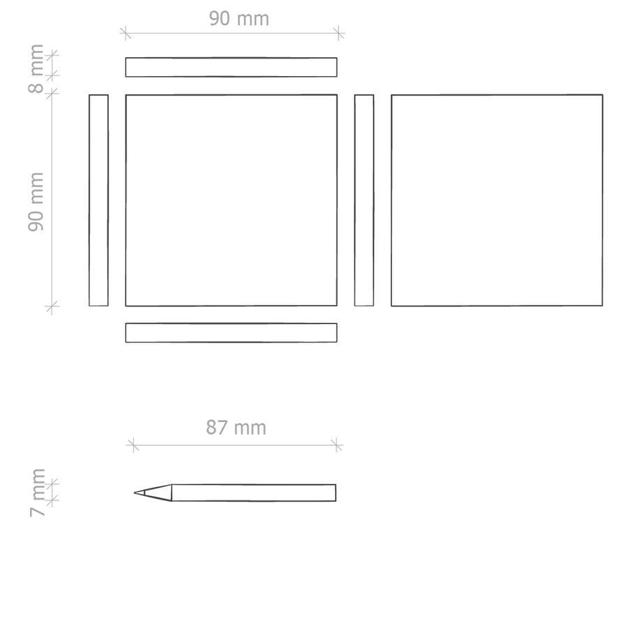 Confezione Matite Colorate Personalizzata E16997 da 100 pz