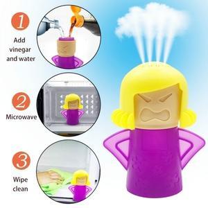 Pulitore e Disinfettante a vapore forno e microonde pulisce facilmente in pochi secondi