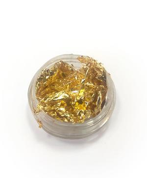 Barattolino foglia oro - Nail Art