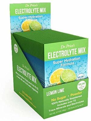 Electrolyte Mix - Minerali in traccia - Gusto Lime - confezione da 30 bustine