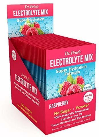 Electrolyte Mix - Minerali in traccia - Gusto Lampone - confezione da 30 bustine