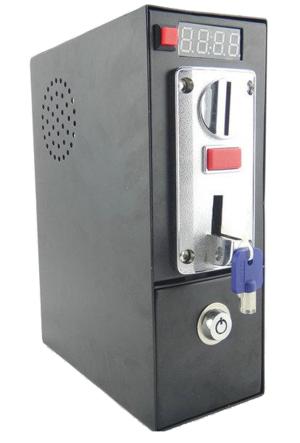 Gettoniera Multimoneta con uscita con contatto NA (normale aperto) / Ingresso 12Vcc