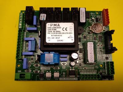 SCHEDA ELETTRONICA STUFE PALAZZETTI cod CHIP 002520109