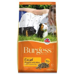 Burgess Guinea Pig Nuggets with Mint - 4,00 Kg.