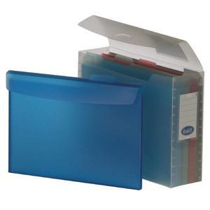 Scatola con 5 cartelline linea Kristal formato 24,5x32 cm - Buffetti 7870KR000