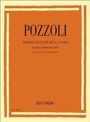 Pozzoli - Solfeggi Cantati A 2 Voci, Facili E Progressivi