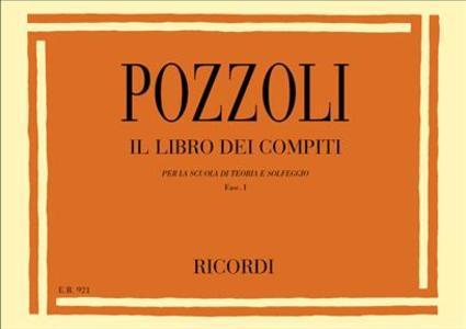 Pozzoli - Libro Dei Compiti Per La Scuola Di Teoria - Fascicolo I