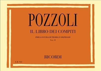 Pozzoli - Libro Dei Compiti Per La Scuola Di Teoria - Fascicolo II