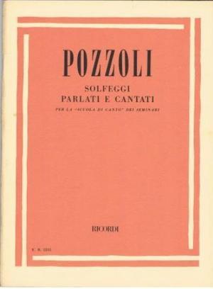 Pozzoli - Solfeggi parlati e cantati per la scuola di canto dei Seminari