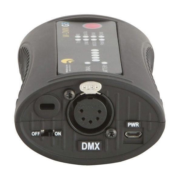 WIRELESS SOLUTIONS - W-DMX™ MICROBOX R-512 G5 RECEIVER