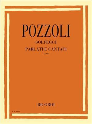 Pozzoli - Solfeggi Parlati E Cantati 1 Corso