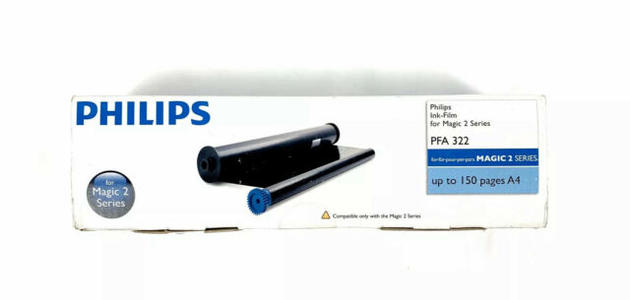 NASTRO ORIGINALE TTR PER FAX PHILIPS MAGIC2 PFA322