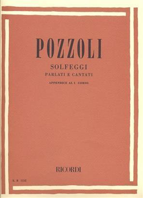 Pozzoli - Solfeggi Parlati E Cantati Appendice al 1 Corso