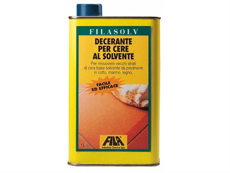FILASOLV decerante per cere al solvente 1l rimozione dei trattamenti tradizionali di cere al solvente su pavimenti