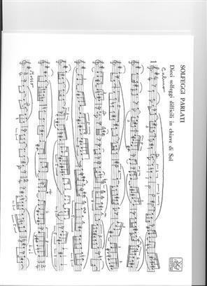 Bettinelli - Solfeggi Parlati E Cantati Manoscritti