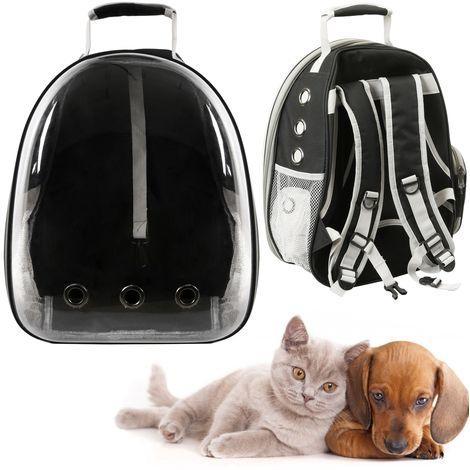 Zaino Trasportino in plastica rigida per trasporto di animali domestici cani e gatti Borsa Da Viaggio
