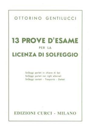 Gentilicci - 13 Prove D'Esame