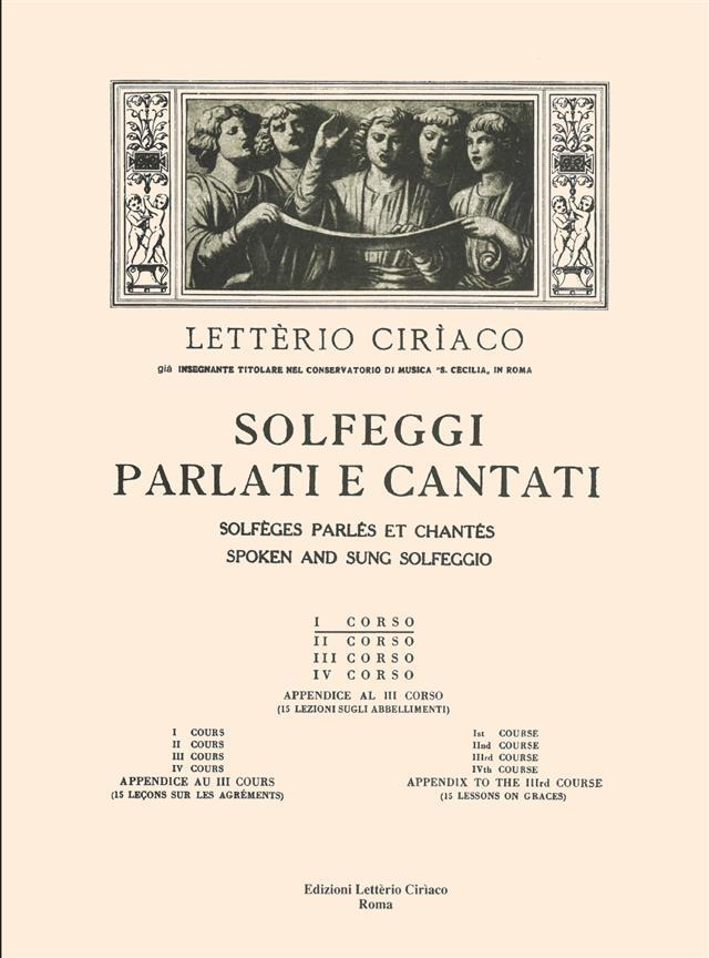 Ciriaco - Solfeggio 1 Corso Parte 1