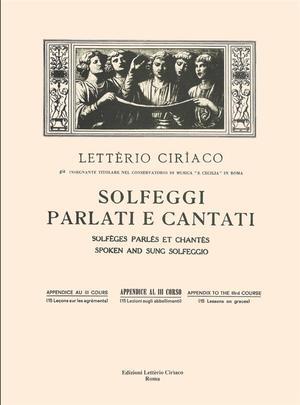 Ciriaco - Solfeggio appendice 3 Corso