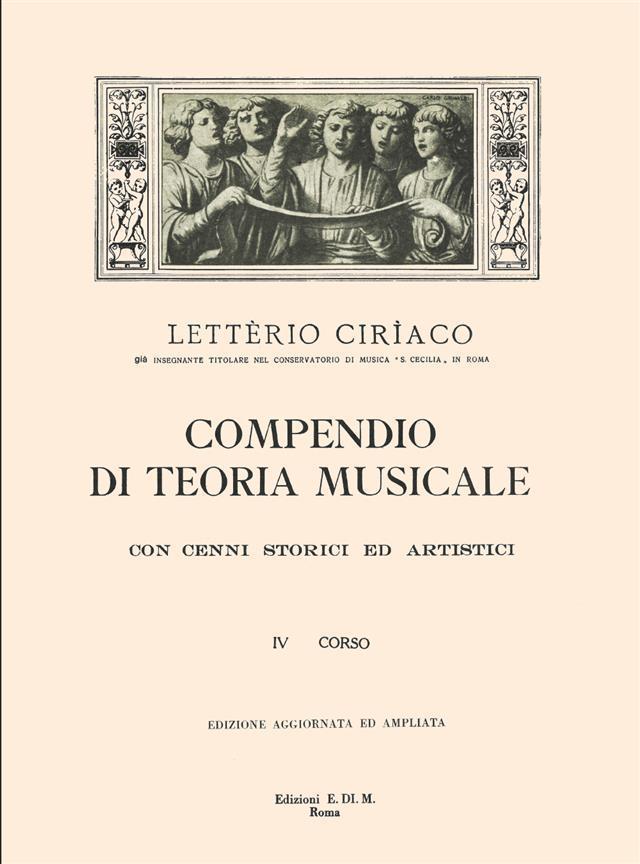 Ciriaco - Compendio di Teoria Musicale 4 Corso