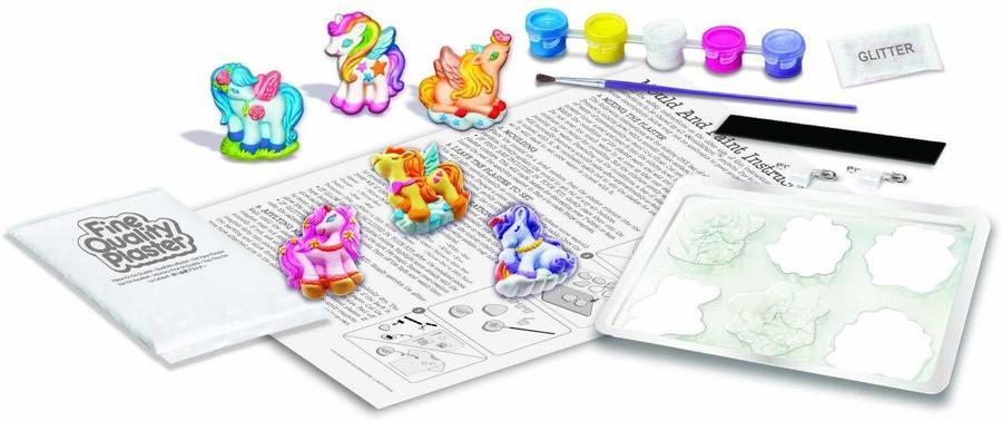 Crea Unicorni fantastici e dipingili come vuoi - 4M 04708 - 5+ anni
