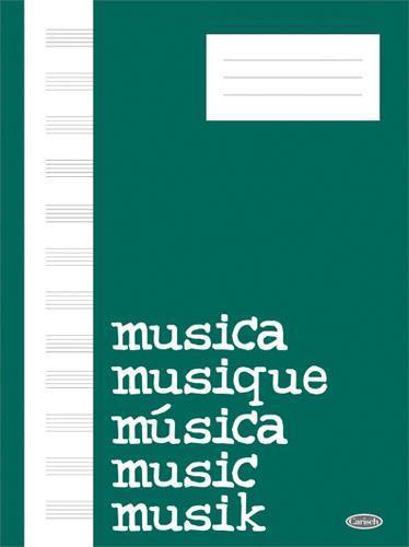 Quaderno di Musica 12 righi - 64 pagine