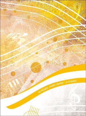 Quaderno di Musica 12 righi - 64 pagine Avorio