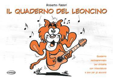 Quaderno del leoncino per chitarra