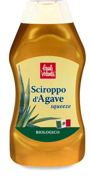 Sciroppo d'agave squeeze, Baule volante, 490 ml