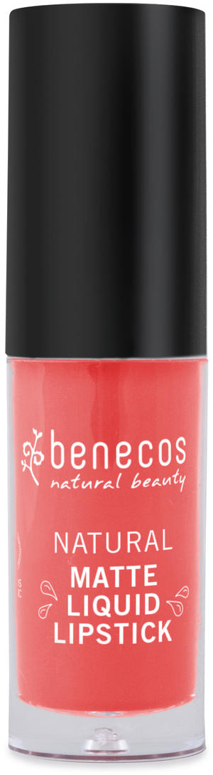 Rossetto liquido - coral kiss, Benecos, 5 ml