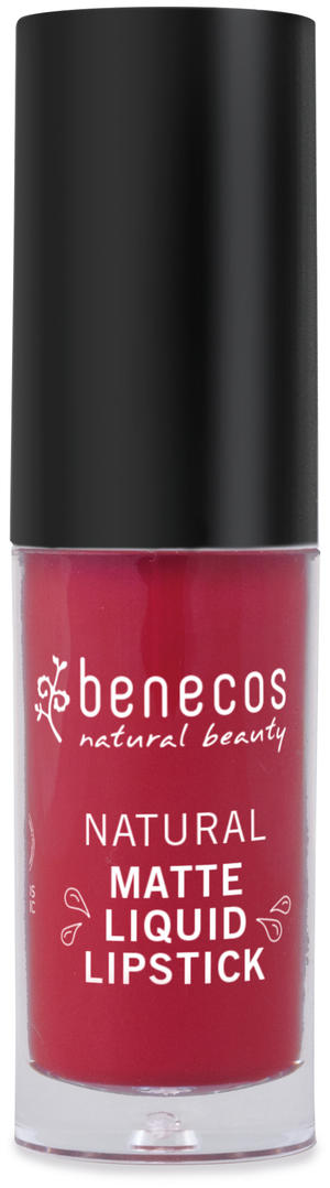 Rossetto liquido - bloody berry, Benecos, 5 ml