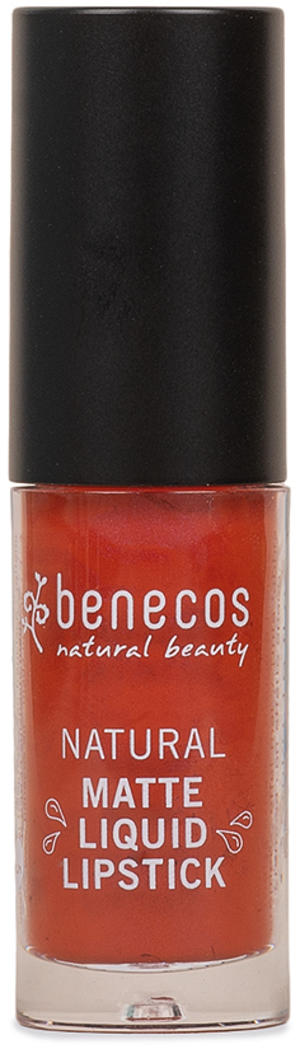 Rossetto liquido - trust in rust, Benecos, 5 ml