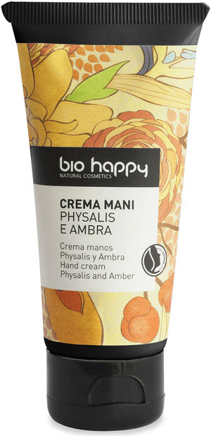 Crema mani physalis e ambra, Bio happy, 50 ml