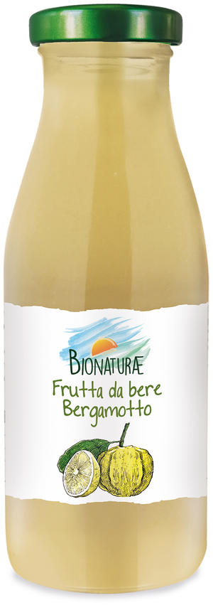 Frutta da bere al bergamotto, Bionaturae, 250 ml