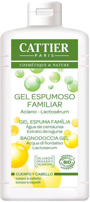 Gel espumoso familiar - bagnodoccia gel, Cattier, 500 gr
