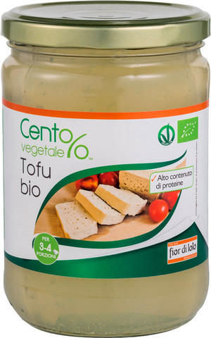 Tofu, Cent%vegetale, 500 gr