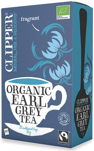 Tè earl grey fairtrade, Clipper, 50 gr