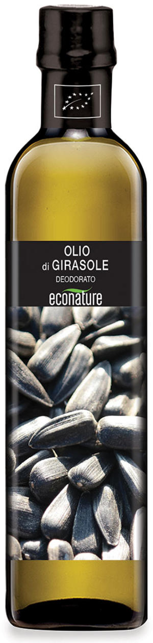 Olio di girasole deodorato, Eco nature, 750 ml