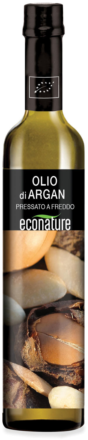 Olio di argan tostato, Eco nature, 100 ml