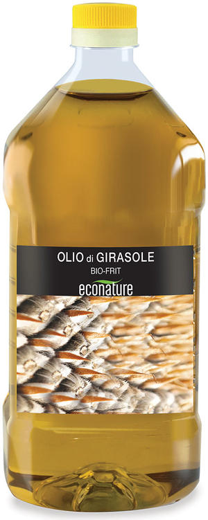 Bio frit di girasole in pet, Eco nature, 2 L