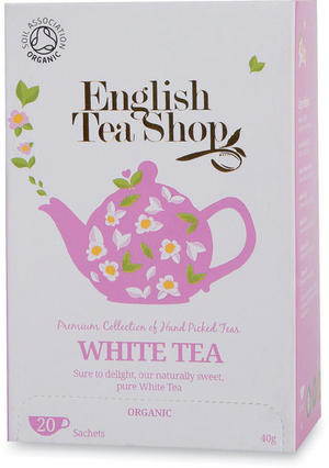 White tea, English tea shop, 40 gr