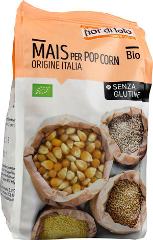 Mais per pop corn, Fior di loto, 400 gr