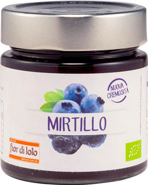Composta di mirtillo, Fior di loto, 250 gr