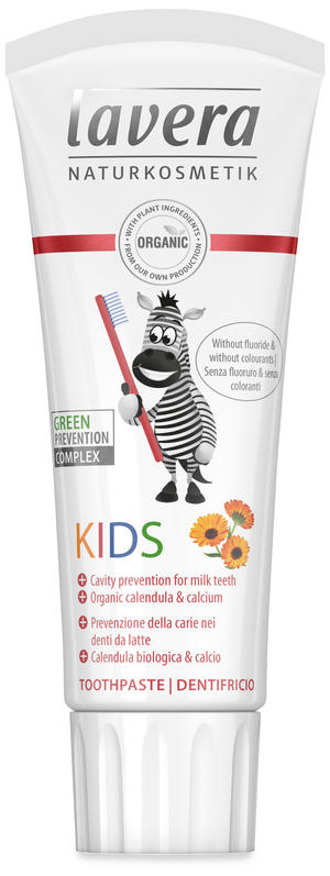 Dentifricio kids, Lavera, 75 ml