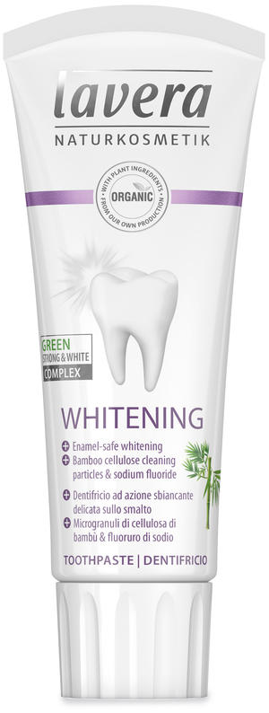 Dentifricio whitening, Lavera, 75 ml